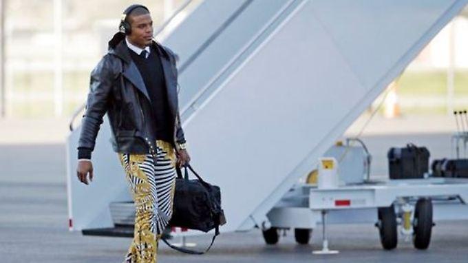 Mode kann man kaufen, Stil muss man haben: Cam Newton.