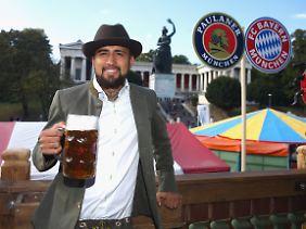 Arturo Vidal, nicht im Bayern-Trainingslager.