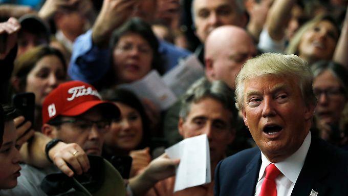 Trump fordert eine Annullierung der Iowa-Wahl - oder eine neue.