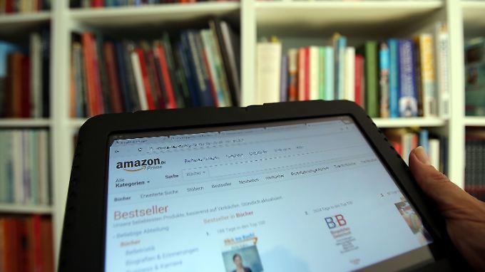 Bislang betreibt Amazon testweise einen Buchladen in Seattle.