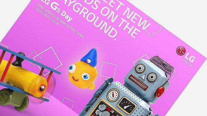Willkommen auf der Spielwiese: So lädt LG zur G5-Premiere ein.