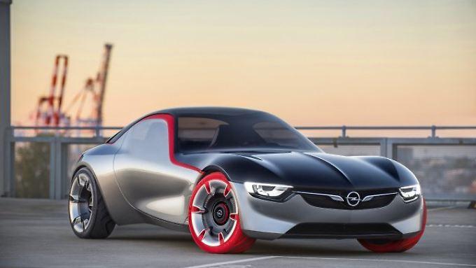 Opel zeigt mit einem heißen Frontmittelmotor-Konzeptauto den ideellen Nachfolger des GT aus dem Jahr 1968.