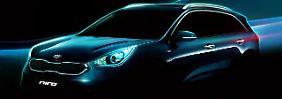 Das SUV Kia Niro kommt als Hybrid auf den Markt.