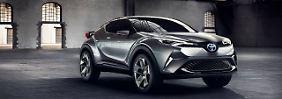 Toyota hat eine Studie zum C-HR auf der IAA im September gezeigt.