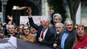 Generalstreik in Griechenland: Athen dementiert Gerüchte über Neuwahlen