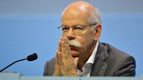Nach Rekordgewinn im Jahr 2015: Daimler formuliert vorsichtige Ziele