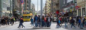 Festgenommene Terror-Verdächtige: Islamisten sprachen über Checkpoint Charlie