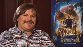 "Interview zum neuen Film ""Gänsehaut"": Was Jack Black Angst bereitet? Donald Trump!"