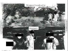 Woher genau die veröffentlichten Fotos stammen, wurde nicht mitgeteilt.