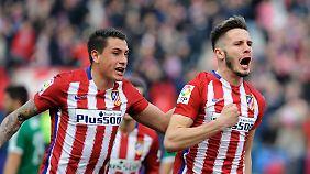 Atlético Madrid kann noch gewinnen, das bekam Überraschungsteam SD Eibar zu spüren.
