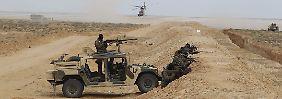 Grenze zu Libyen: Tunesien stellt IS-Sperranlage fertig