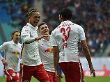 Pauli mischt wieder oben mit: RB Leipzig enteilt der Zweitligakonkurrenz