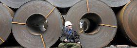 ThyssenKrupp im Aufwind: Industrie warnt vor Chinas Billig-Stahl