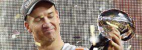 """""""Triff keine Entscheidung aus der Emotion heraus"""": Peyton Manning."""