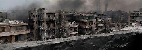 Aleppo vor dem Fall: Russland bringt Assad entscheidenden Sieg
