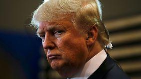 Holprige TV-Debatte der Republikaner: Genervter Trump wird ausgebuht