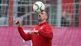 """Wir brauchen ihn"": Franck Ribéry."