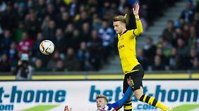 Marco Reus muss heute für seine Borussia in Stuttgart ran.