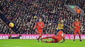 Der Liverpool FC ist an der Anfield Road heimisch.