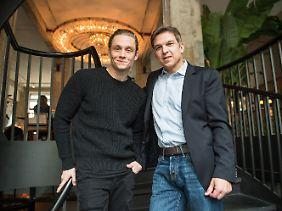 Schweighöfer macht gemeinsame Sache mit dem Deutschland-Chef von Amazon Video, Christoph Schneider.