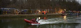 Bericht über elften Toten falsch: Polizei vermisst keine Zuginsassen mehr