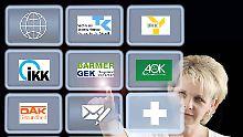 Massenweise neue Mitglieder: Krankenkassen: Wer gewinnt, wer verliert?