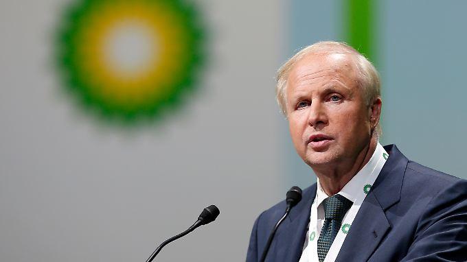 BP-Chef Bob Dudley ist der Mutmacher der Ölbranche.