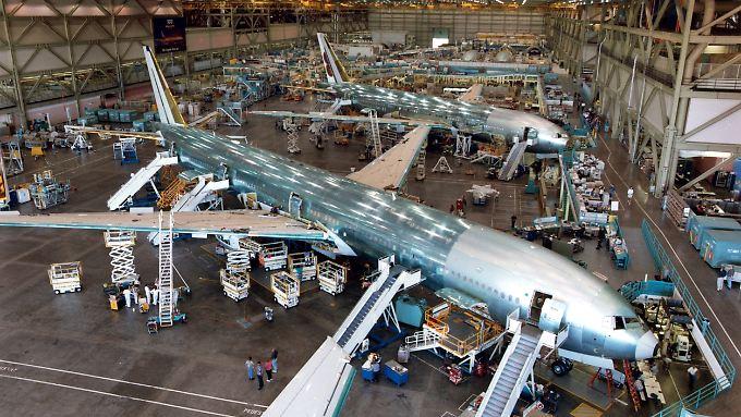 Boeings Werke sind für die kommenden Jahre ausgelastet (Archivfoto).