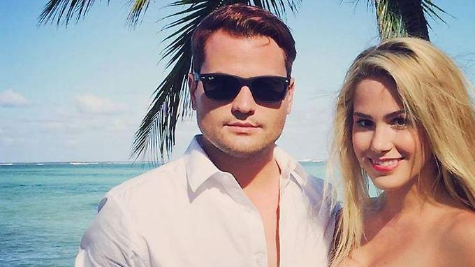 Als Rocco Stark dieses Bild mit Angelina Heger im Januar postete, gab es schon Liebes-Spekulationen - nun ist es offiziell.