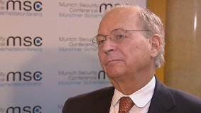 """Ischinger vor Sicherheitskonferenz: """"Die Bundeskanzlerin tut mir fast ein bisschen leid"""""""