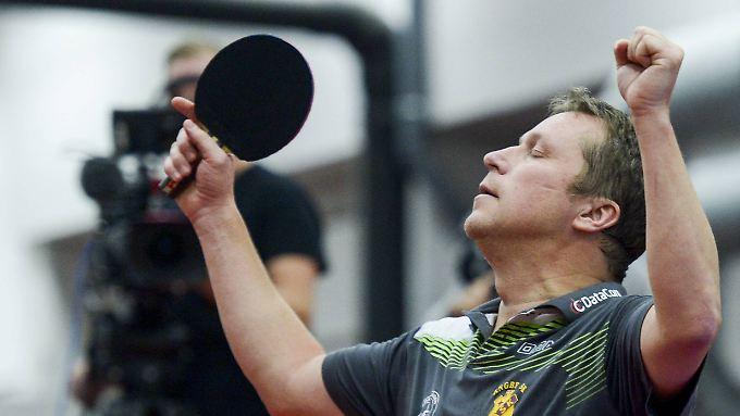 Jan-Ove Waldner konnte alles am Tischtennisball - und ließ das auch die Chinesen schmerzhaft spüren.