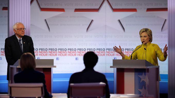 """""""Ich bin keine Kandidatin mit nur einem Thema"""", betont Hillary Clinton."""