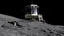 """Mini-Labor geht Energie aus: Forscher geben """"Philae"""" endgültig auf"""