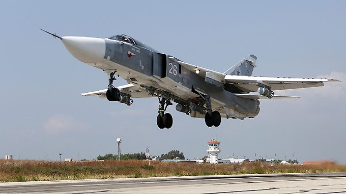 Die russische Luftwaffe fliegt vorerst weiter Luftangriffe in Syrien.