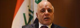 """Türkisches Verhalten """"inakzeptabel"""": Irak will IS noch in diesem Jahr besiegen"""