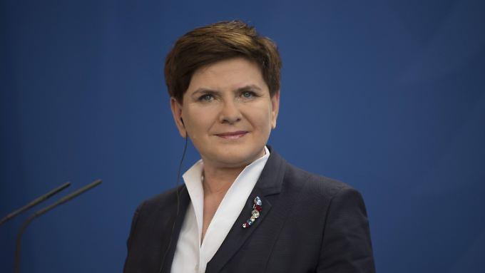 Ministerpräsidentin Szydlo hat sich für ihren ersten Besuch in Berlin Zeit gelassen.