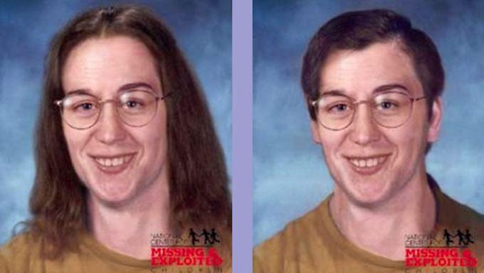 Ein Bild von Edgar Latulip in einer Vermissten-Datenbank. 30 Jahre war er verschwunden.
