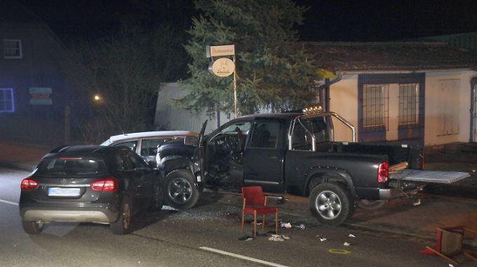 Das Zielfahrzeug wurde von den Einsatzkräften in der Ortschaft Lutheran gestoppt.