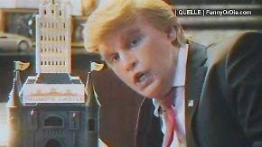 Vermeintliche 80er-Jahre-Doku: Johnny Depp parodiert Donald Trump