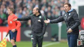Erster Spiel, erster Punkt: Julian Nagelsmann fährt mit Hoffenheim nicht mit leeren Händen heim aus Bremen.
