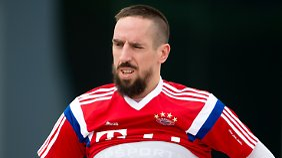 Er ist wieder da: Bayerns Franck Ribery.