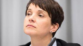 Die AfD-Bundesvorsitzende Frauke Petry.