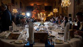Jedes Jahr lädt der bayerische Ministerpräsident bei der Sicherheitskonferenz zu einem Dinner mit meist 100 Gästen.