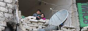 """Opposition ist frustriert: """"Syrien wird von der Welt im Stich gelassen"""""""