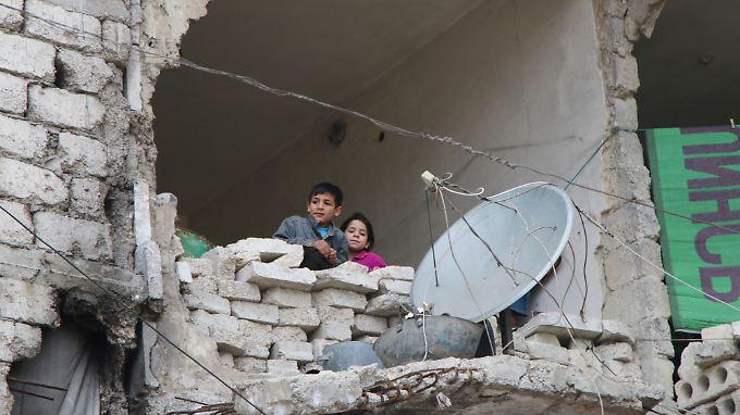 Aleppo, 11. Februar 2016.