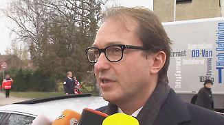 """Dobrindt zum Zugunglück in Bad Aibling: """"Keine Hinweise auf technische Probleme"""""""
