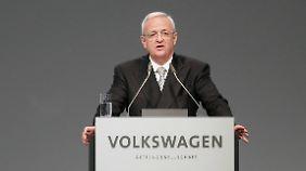 Verdacht im VW-Abgasskandal: Winterkorn soll schon 2014 von US-Ermittlungen gewusst haben