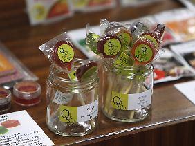 """Der Verkauf von """"Edibles"""" wie diesen Lollies treibt den Umsatz auf dem Marihuana-Markt nach oben."""