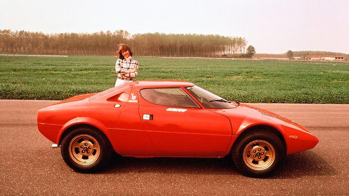 Der von Bertone messerscharf gezeichnete Stratos sorgte 1973 für Aufsehen auf den Straßen.