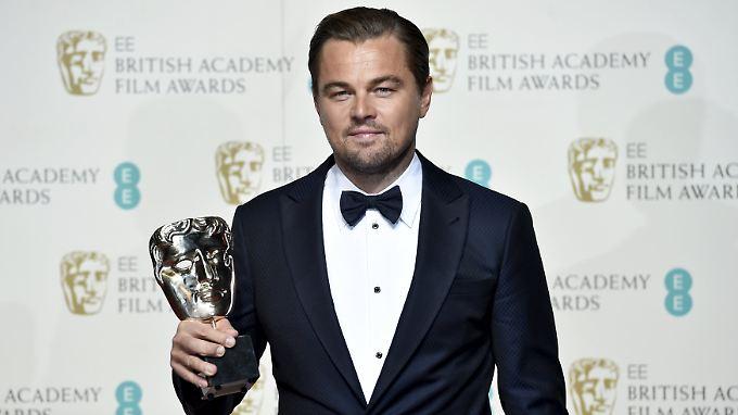 DiCaprio gewann das erste mal bei Bafta